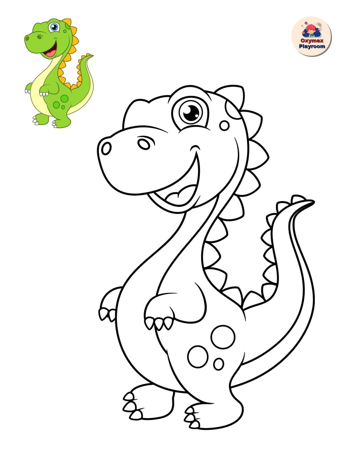 """Раскраски для детей """"Динозавры"""""""